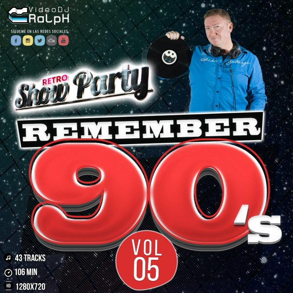 VideoDJ RaLpH - Retro Show Party 90s Vol 05 (Vocal Vs Base)