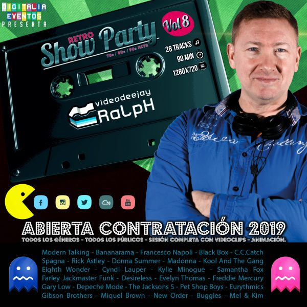 VideoDJ RaLpH - Retro Show Party Vol 08