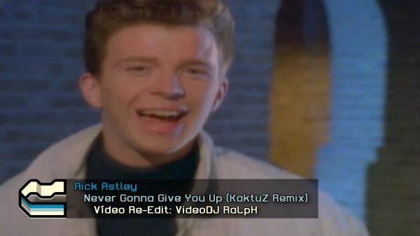 Rick Astley - Never Gonna Give You Up (KaktuZ Remix)