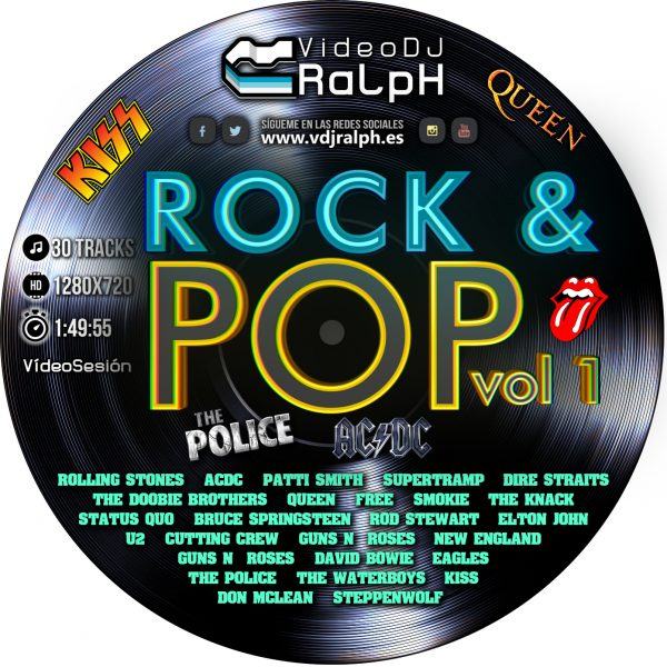 VideoDJ RaLph - Rock And Pop Vol 1