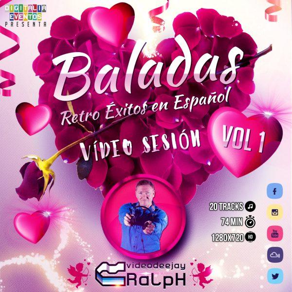 VideoDJ RaLpH - Baladas 01 Retro en Castellano