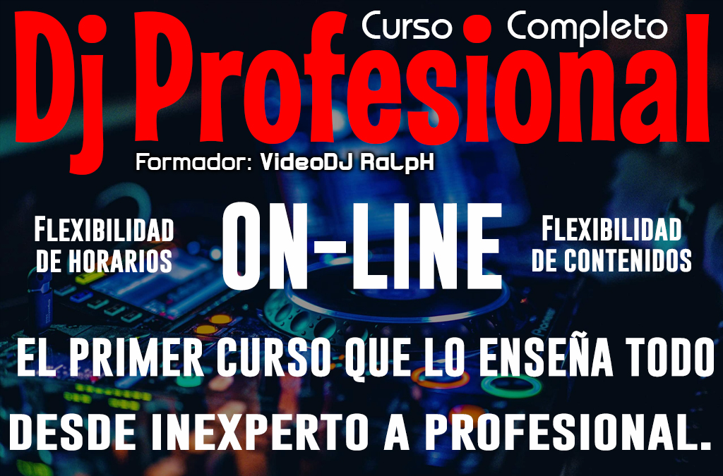 Curso DJ Profesional Completo On Line