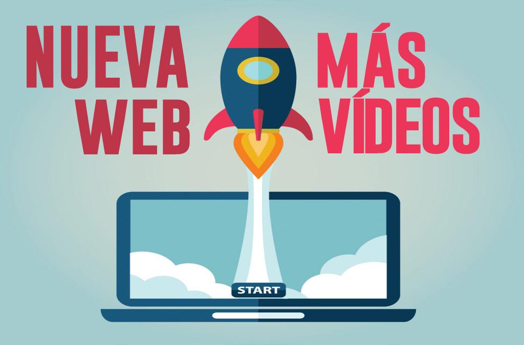 Nueva web y contenidos