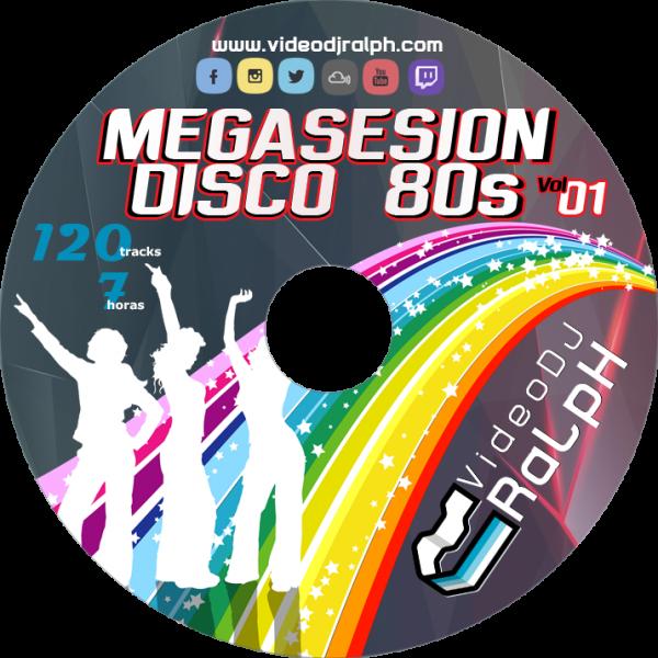 VideoDJ RaLpH - MegaSesion Disco 80s Vol01