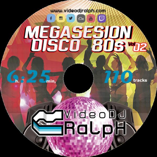 VideoDJ RaLpH - MegaSesion Disco 80s Vol 02