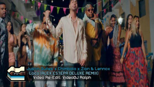 Justin Quiles x Chimbala x Zion & Lennox - Loco